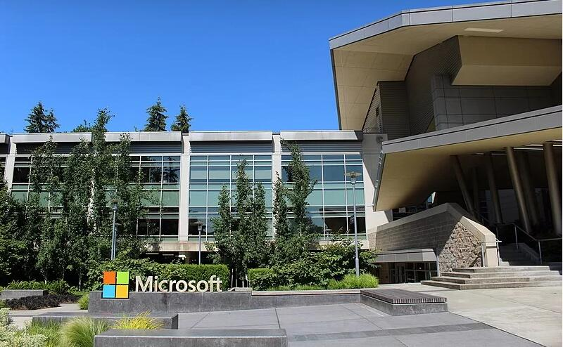 Microsoft complex in Redmond, Washington