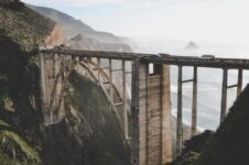 Bixby Creek Bridge in Monterey, California