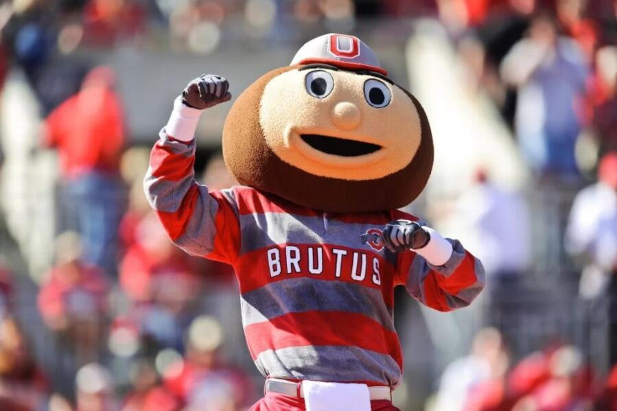 Brutus Buckeye - Ohio State University