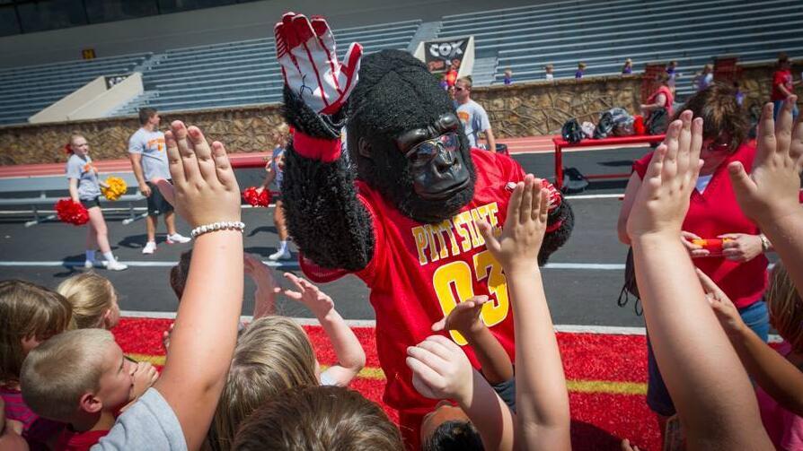 Gus the Gorilla - Pittsburg State University