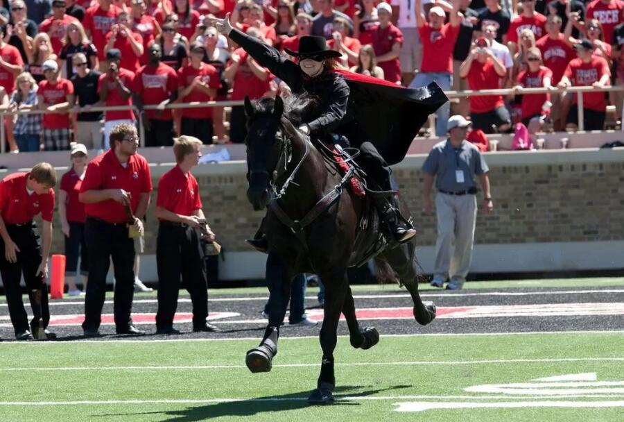 The Masked Rider - Texas Tech University