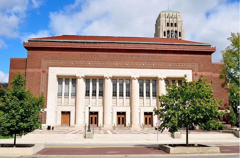 Hill Auditorium University of Michigan