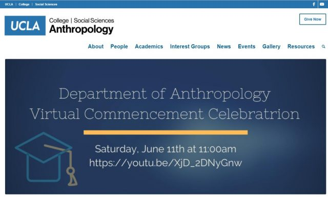 UCLA Department of Anthropology